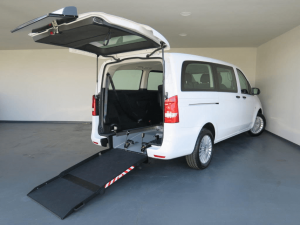 wheelchair adapted vehicle